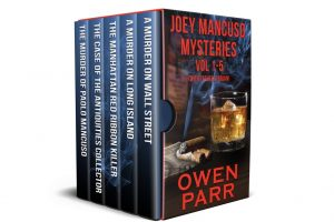 Joey Mancuso Mysteries Vol. 1-5