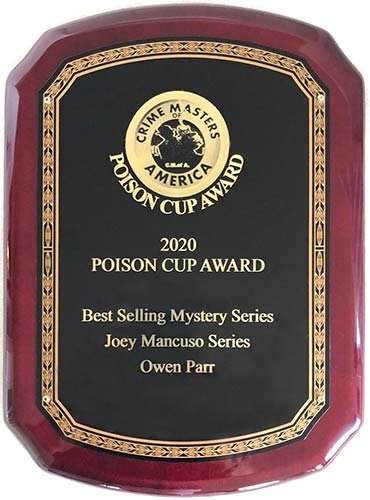 Crime Masters Poison Cup Award 2020